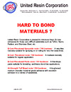 Hard to Bond Materials